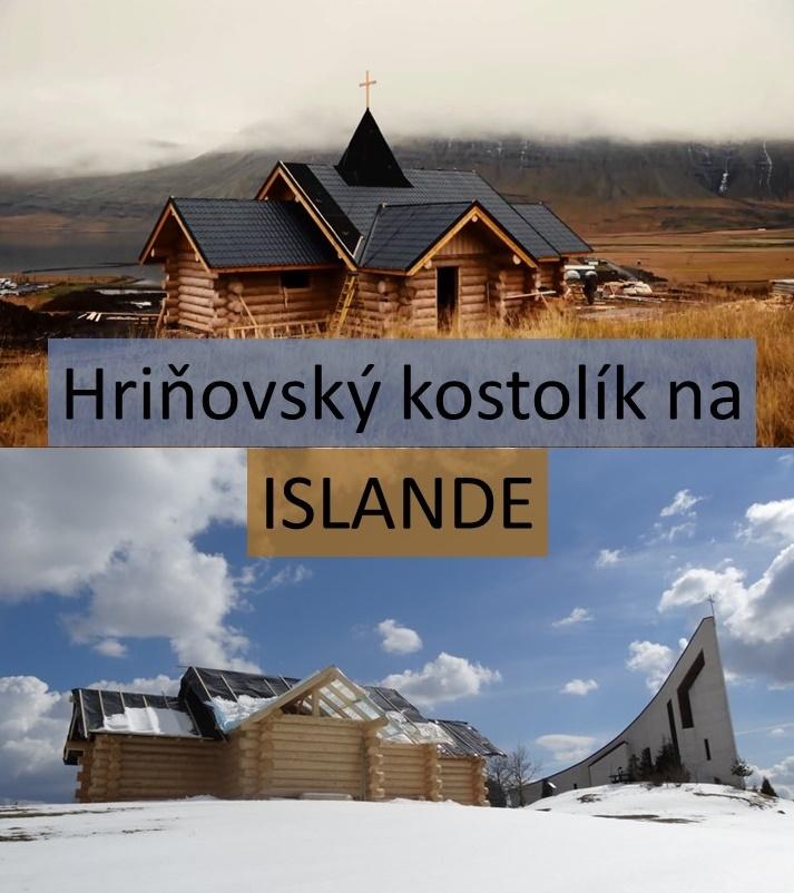 Hriňovský kostolík na Islande 1