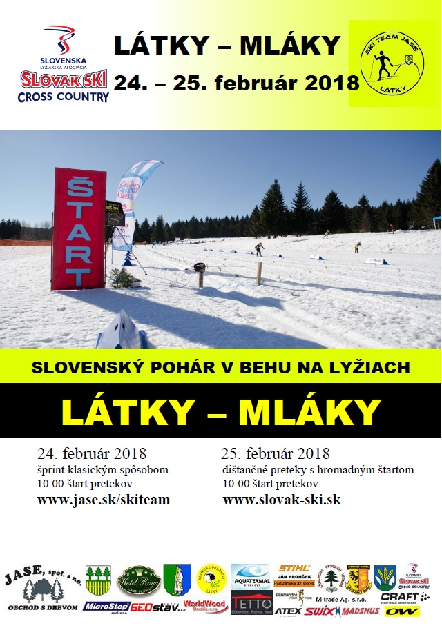 Slovenský pohár v behu na lyžiach 1