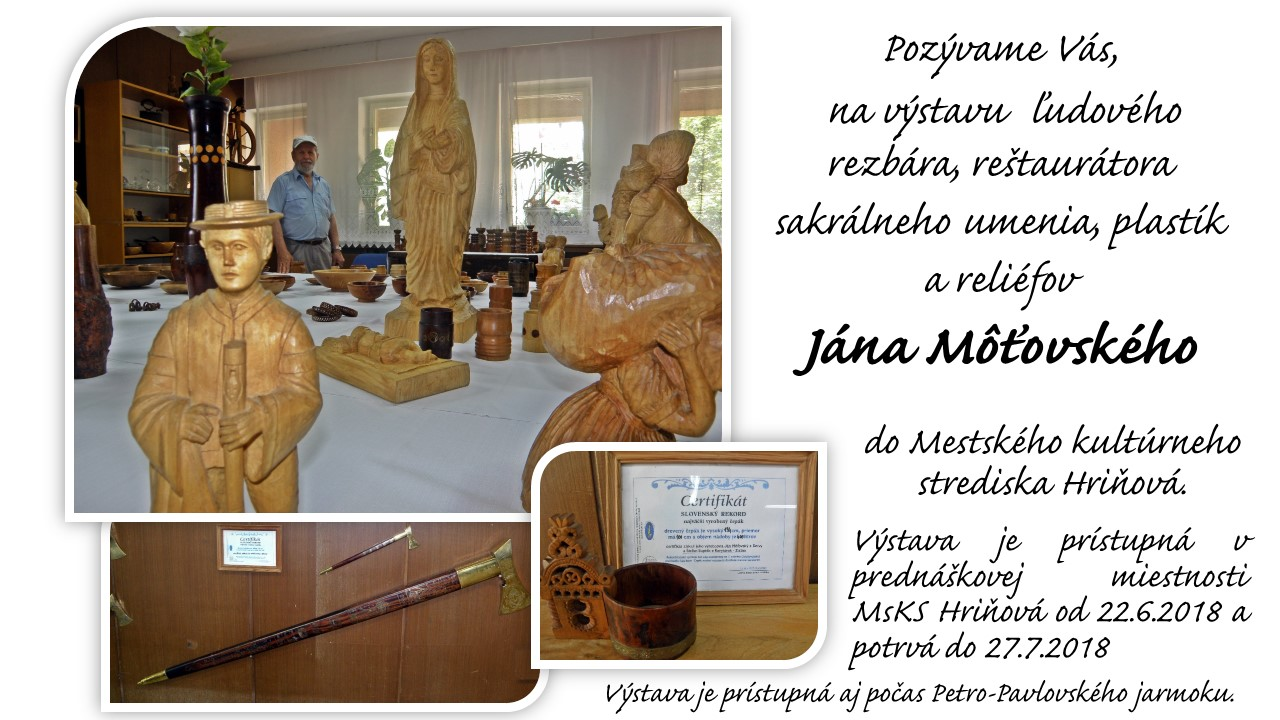 Výstava Jána Môťovského 1